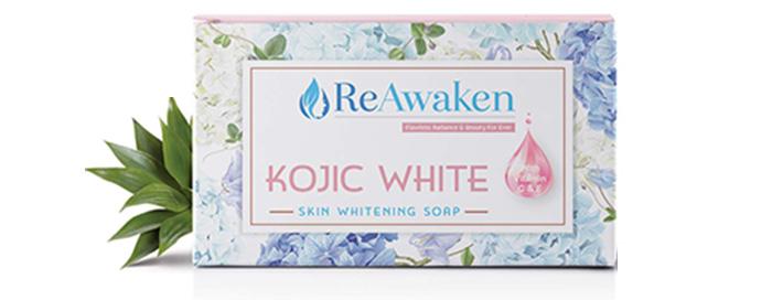 ReAwaken Kojic White Skin Whitening Soap