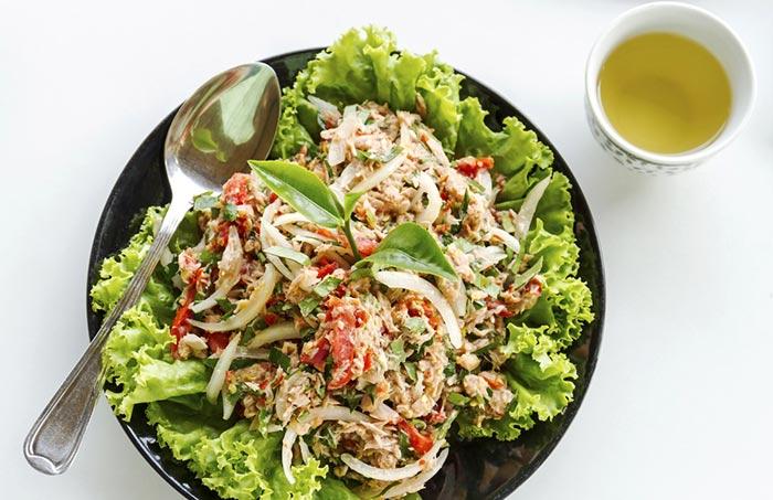 Recipe- Tuna-Oatmeal Lettuce Boats