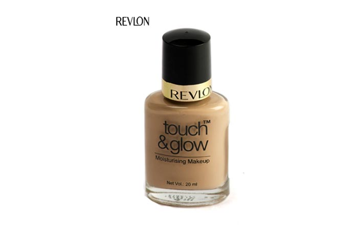 8. Revlon Touch & Glow Moisturizing Makeup Foundation (Natural Mist - 9) - Best Natural Foundation
