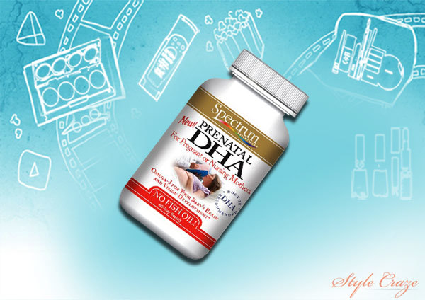 spectrum essentials prenatal dha softgels