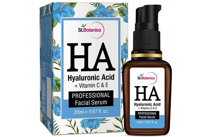 St. Botanica Hyaluronic Acid Facial Serum - Face Serums For Dry Skin