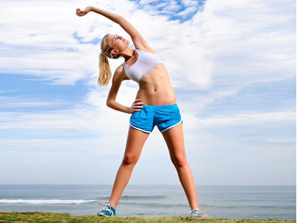 Bending Side To Side - Exercises To Lose Belly Fat