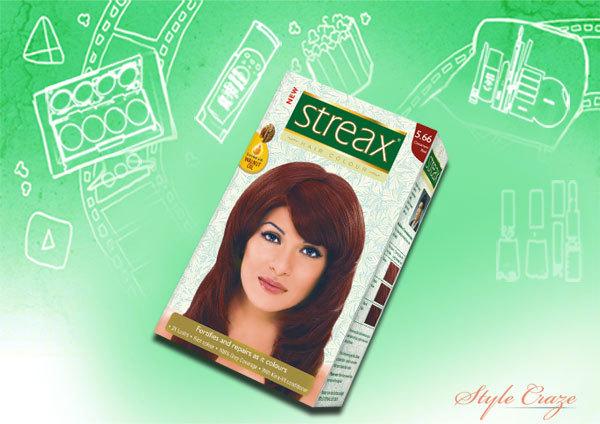 streax cinnamon red 5.66 hair color