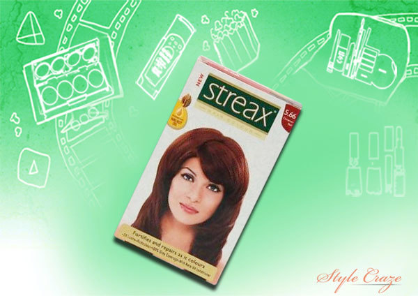 streax int red 5.66 hair colour