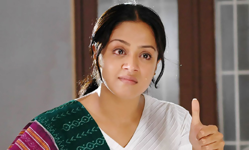 Teary Eyed Beauty Jyothika Without Makeup