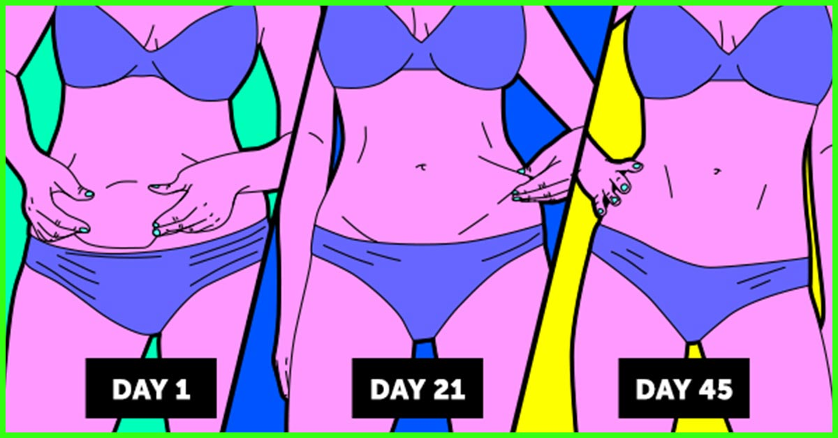 The Best 7 Day Diet Plan And Tips To Get Rid Of Belly Fat