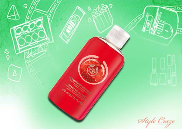 The Body Shop Strawberry Shower Gel