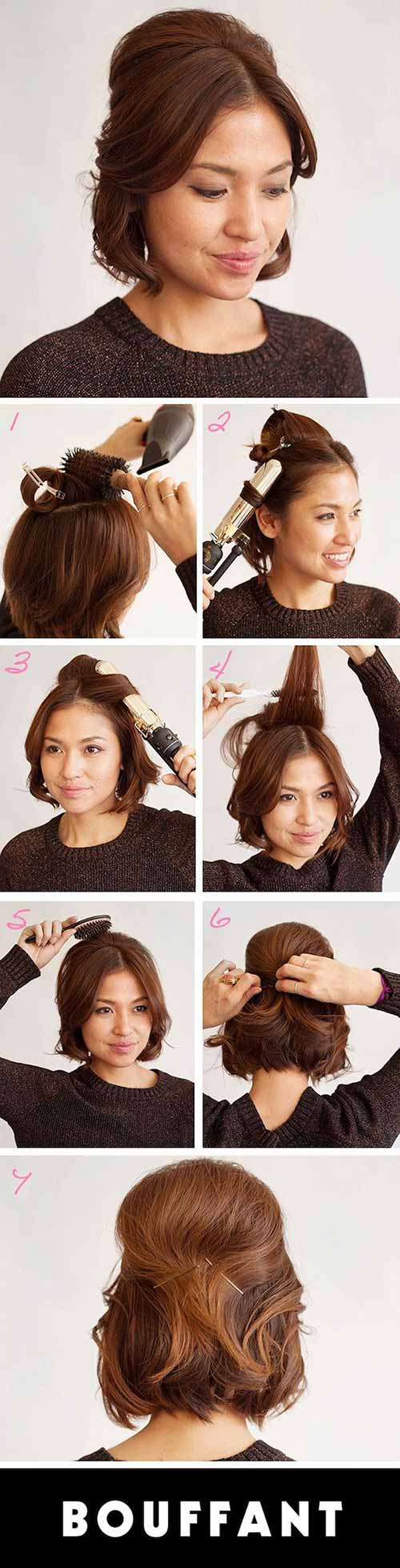 20 Incredible DIY Short Hairstyles - A Step-By-Step Guide