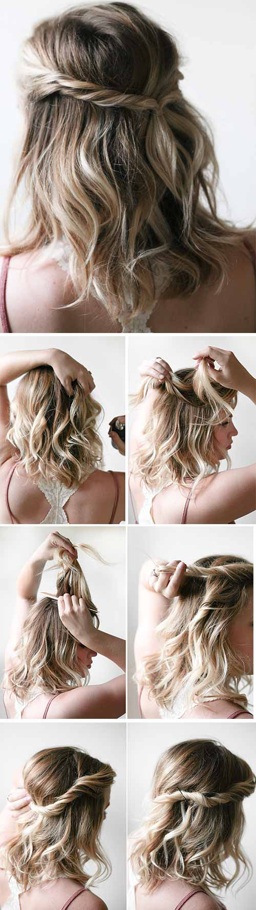 The Easy Twist Hairdo