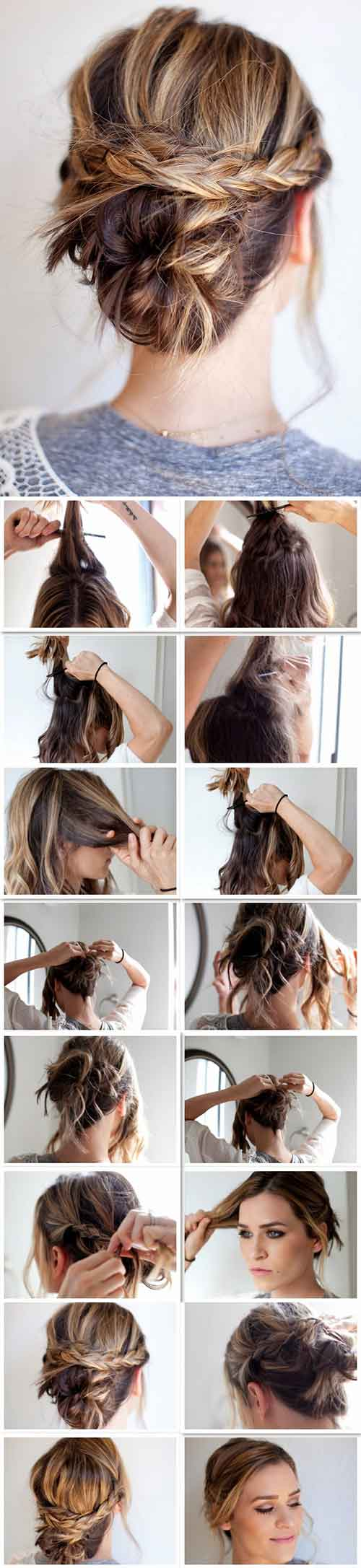 The Perfect Messy Updo