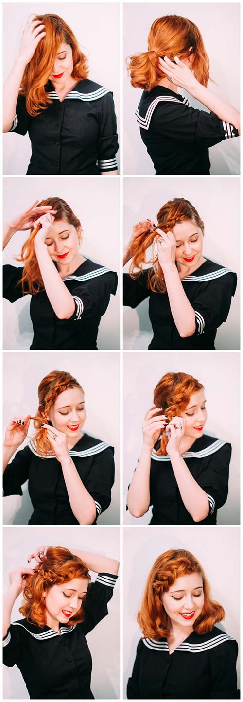 The Simple Side Braid