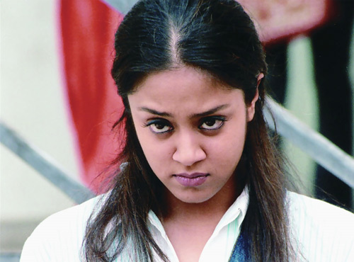 Jyothika with the Angry Glance