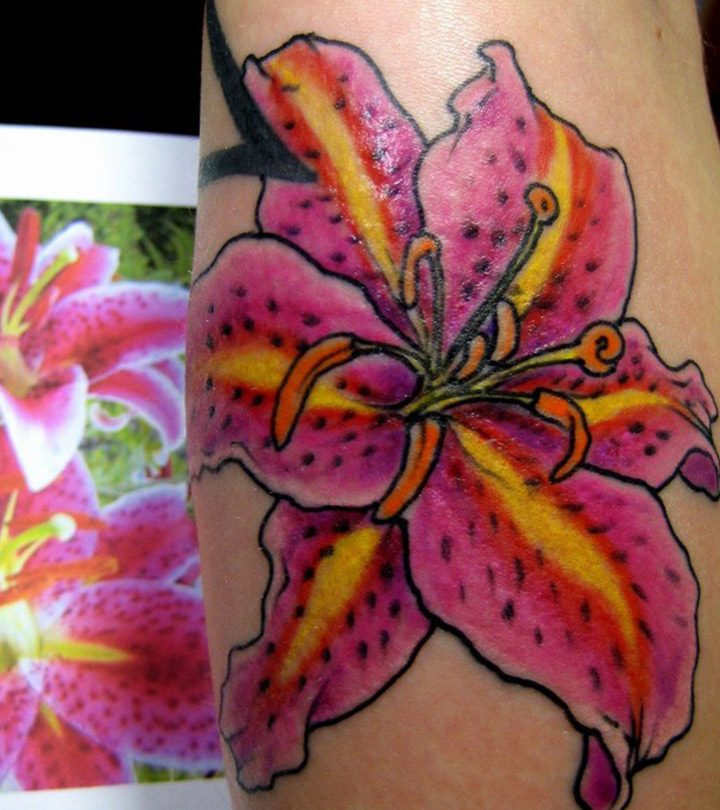 Top-10-Lily-Tattoo-Designs