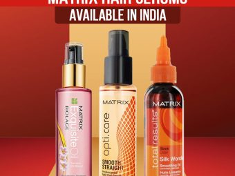 Top 10 Matrix Hair Serums Available In India