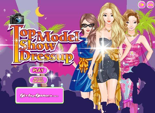 top model show dress up