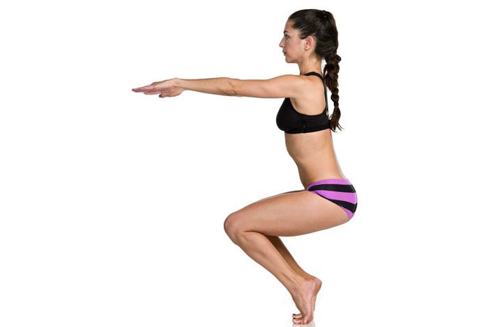 Utkatasana - Bikram Yoga