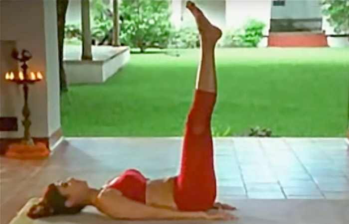 Utthanpadasana - To Improve Blood Circulation