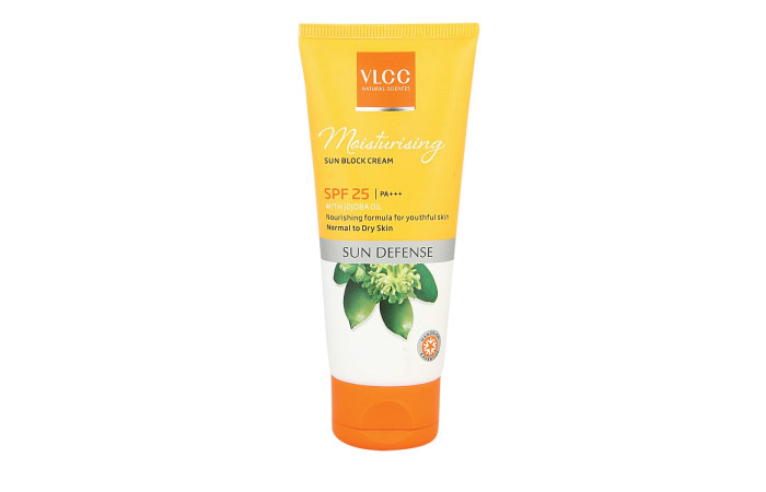 Best Sunscreens For Dry Skin - 6. VLCC Moisturizing Sun Block Cream