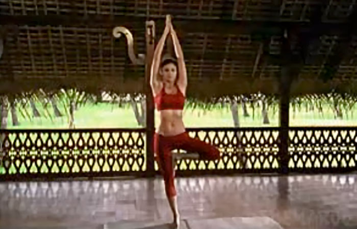 Vrikshasana - To Improve Balance And Stability
