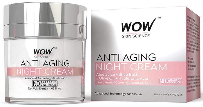 WOW Anti-Aging Night Cream