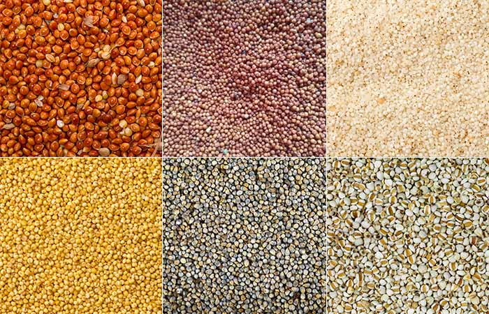 What Are The Commonly Found Types Of Millets