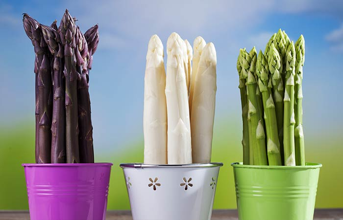 What Are The Types Of Asparagus