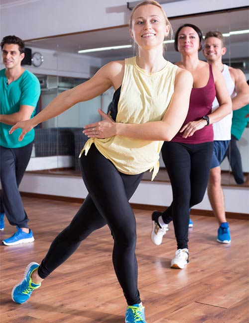 coordination advices for group dance