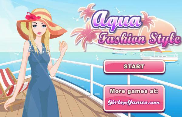 aqua fashion style