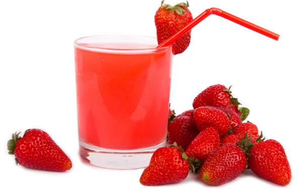 benefits of strawberry juice for skin