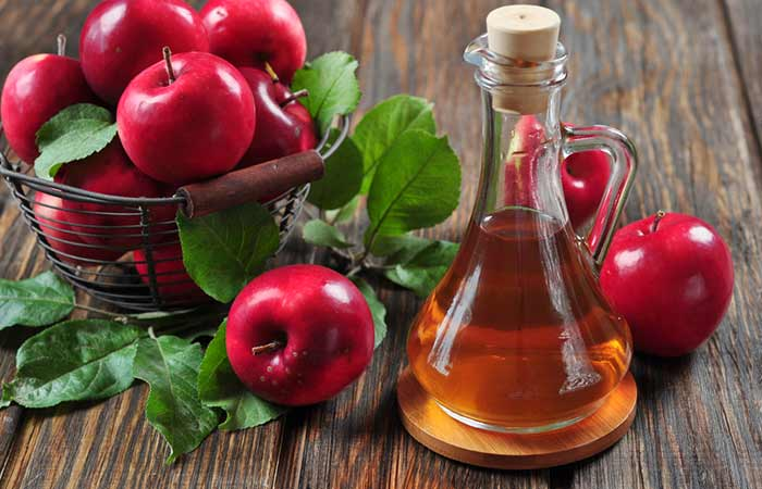 How To Get Rid Of Acne On Your Chin - Apple Cider Vinegar