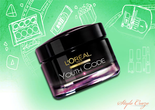 loreal youth code night recovery cream
