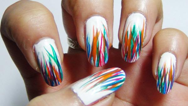 Kleurrijke Nail Art Design-handleidingen voor kinderen