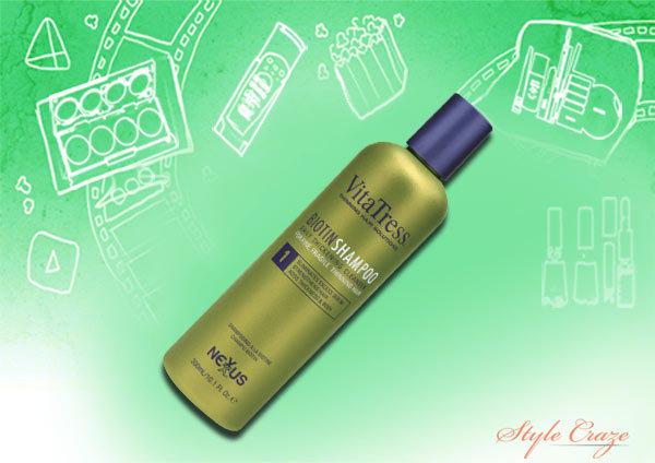 nexxus vitatress biotin shampoo