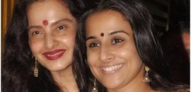 rekha without makeup