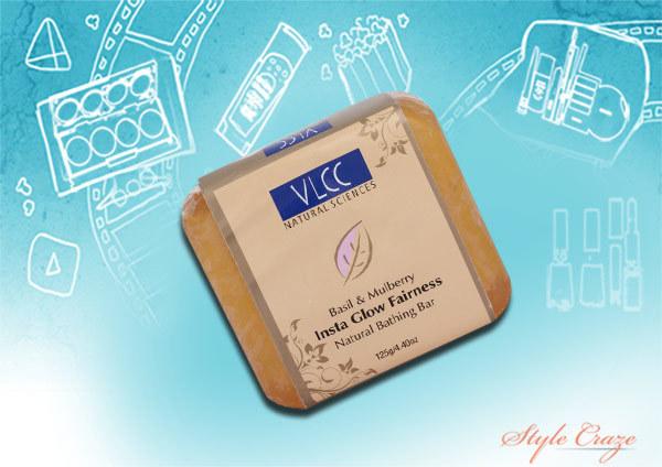 vlcc insta glow fairness soap review
