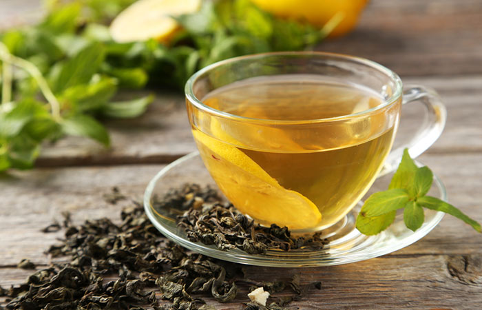 1. Green Tea With Lipton Loose Tea Leaves