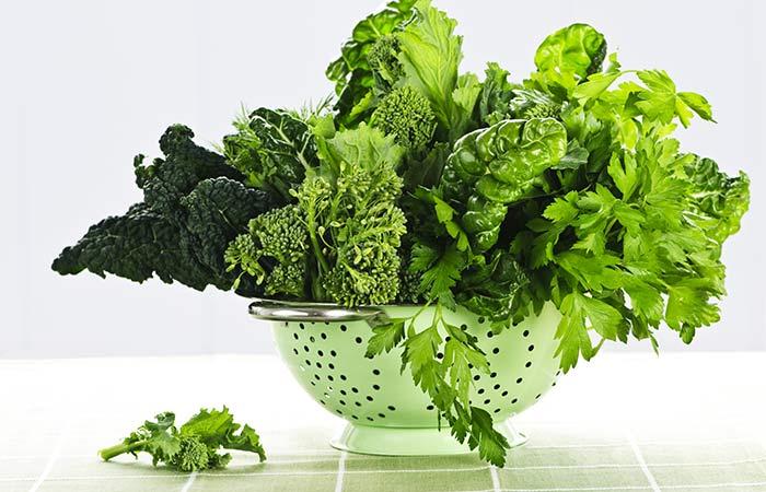1.Leafy Greens