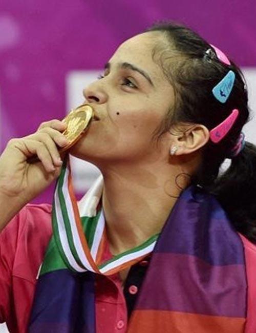 1. Saina Nehwal