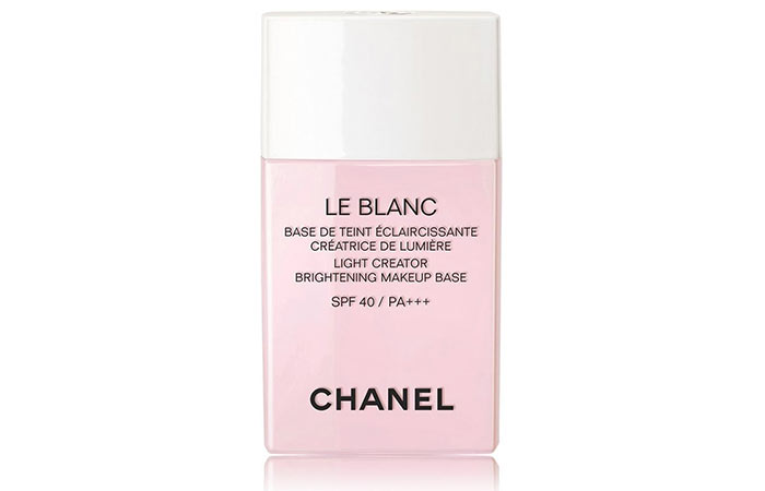 10. Chanel Le Blanc Brightening Makeup Base