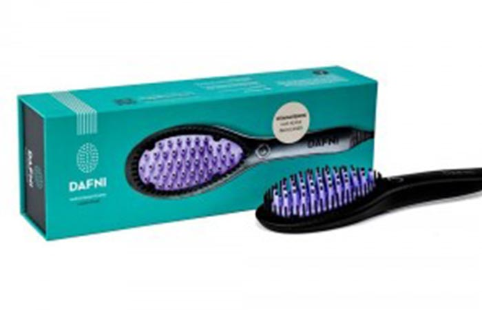 10. Dafni Hair Straightening Brush