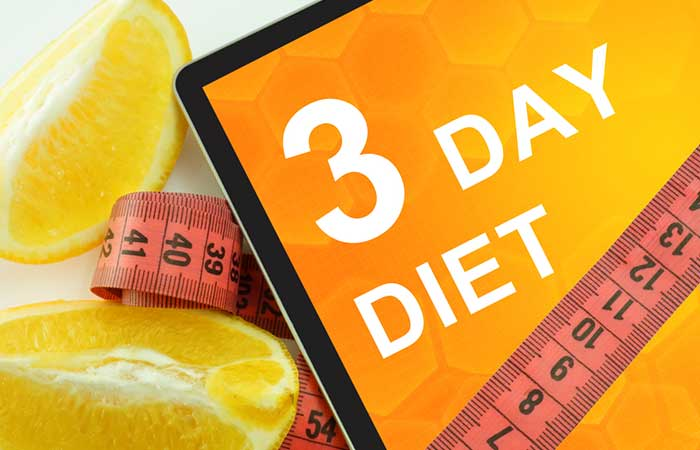 10. The 3-Day Diet