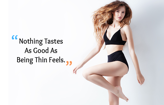 Motivational Quotes for Weight Loss - Nothing Tastes As Good As Being Thin Feels