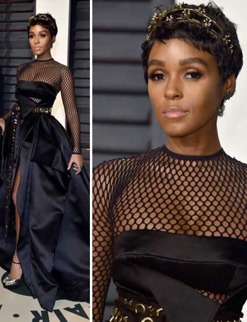 Most Beautiful Black Female Celebrities - 11. Janelle Monae