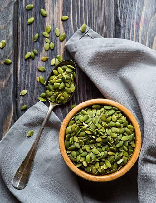 Foods For A Healthy Kidney - Pumpkin Seeds
