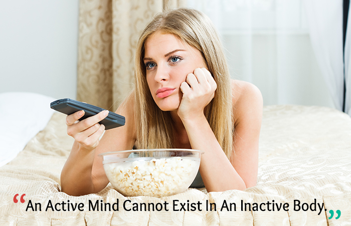 Motivational Quotes for Weight Loss - An Active Mind Cannot Exist In An Inactive Body