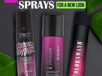 15 Best Hair Color Sprays For A New Look