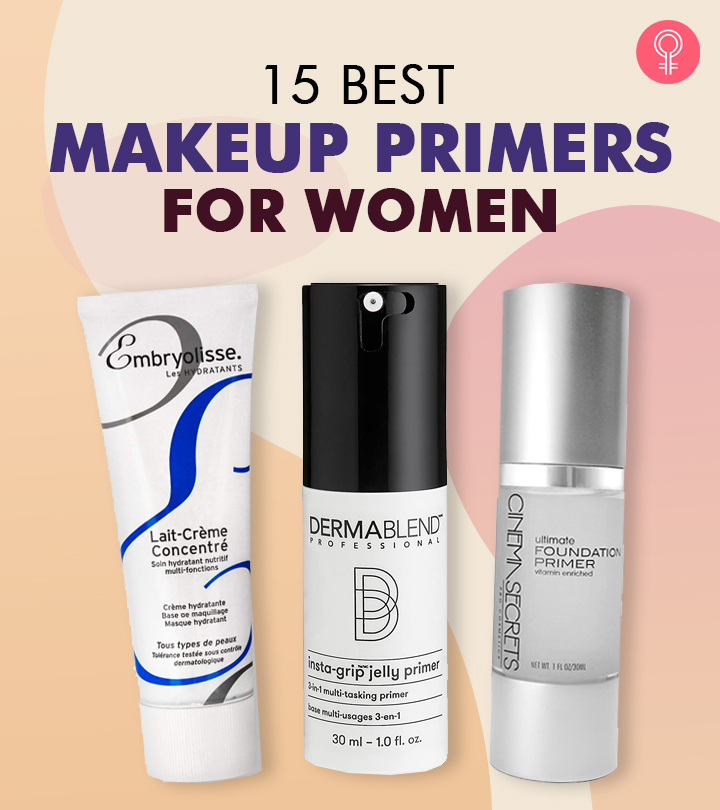 15 Best Makeup Primers For Women