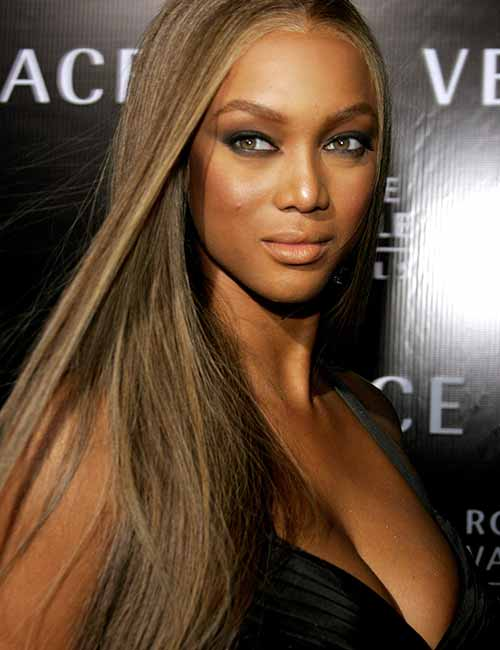 Beautiful Black Female Celebrities - 15. Tyra Banks