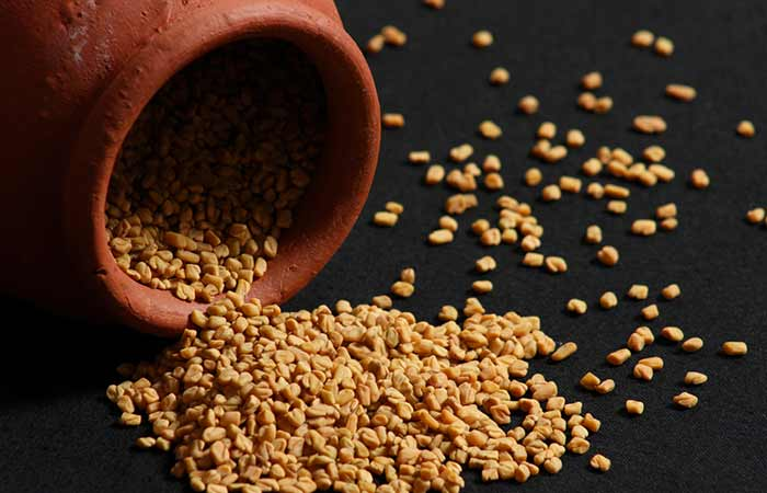 16. Fenugreek Hair Spa Treatment For Dull Hair