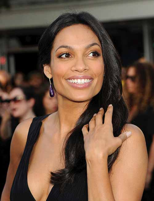 Most Beautiful Black Female Celebrities - 16. Rosario Dawson